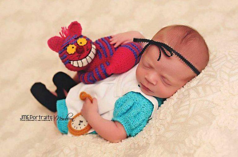 Ensaios fotográficos de recém-nascidos geek
