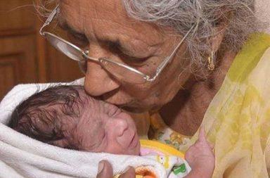 Indiana de 72 anos dá luz e amamenta seu bebê