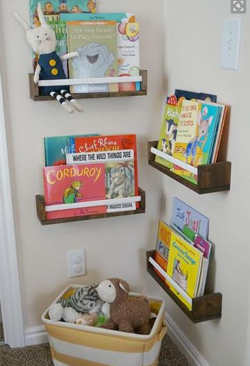 40 id ias para organizar os brinquedos dos filhos em casa - Libreria infantil ikea ...